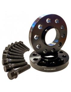 KSDCN205X1266M450         -KIT SEPARADOR NEGRO 20mm D-C 5X112 -M14E45-  MERCEDES- T. Esférico 14X150