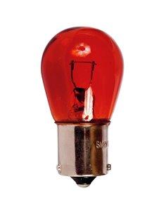 LAMP. STOP 1 POLO 12V 21W BAU15S CASQ. DESC.AMBAR